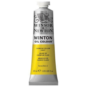 Winsor & Newton Winton Oil Colour Paint, 37Ml Tube, Cadmium Yellow Light