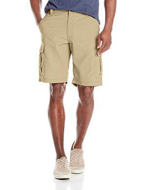 Lee Men's Big-Tall Performance Cargo Short, Lion, 44