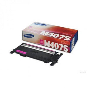 Samsung Clt-M407S Toner Cartridge For Clp-325W And Clx-3185Fw - Magenta
