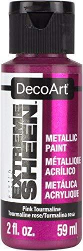Decoart Dpm15-30 Extreme Sheen 2 Oz Paint, Pink Tourmaline Extreme Sheen Paint