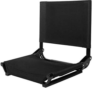 Cascade Mountain Tech Stadium Seat By, Wide (Black)