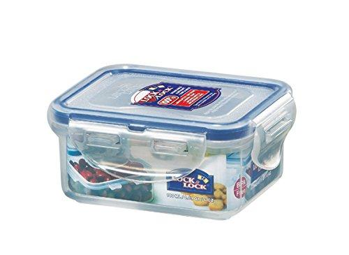 Lock & Lock Rectangular Water Tight Food Container (6 Oz)