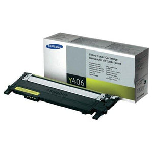 Samsung Clt-Y406S Toner Cartridge Yellow For Clp-365W, C410W, 3305W, Xpress C460Fw