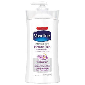 Vaseline Intensive Care Body Lotion, Mature Skin Rejuvenation, 20.3 Oz