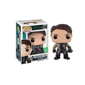 Funko Pop Tv: Arrow - Malcolm Merlyn 2016 Sdcc Exclusive Vinyl Figure