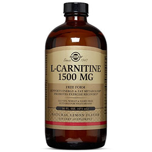 Solgar - L-Carnitine 1500 mg Liquid 16 oz