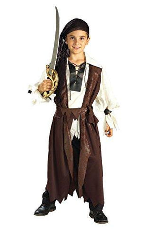 Rubies Halloween Concepts Children's Costumes Caribbean Pirate - Large