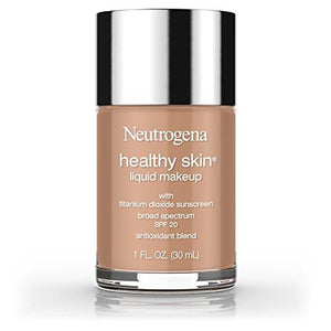 Neutrogena Healthy Skin Liquid Makeup Foundation, Broad Spectrum Spf 20, 135 Chestnut, 1 Oz.