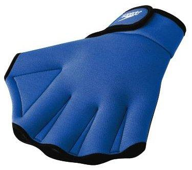 Speedo Aqua Fit Swim Training Gloves,Royal Medium