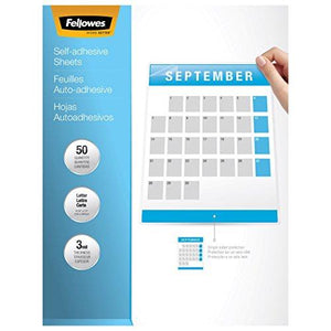Fellowes 5221501 Self-Laminating Sheets, 3Mil, 12 X 9 1/4 (Box Of 10)