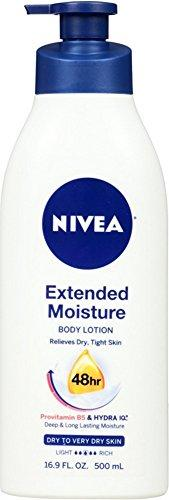 Nivea Extended Moisture Body Lotion, 16.9 Oz ( Pack Of 4)