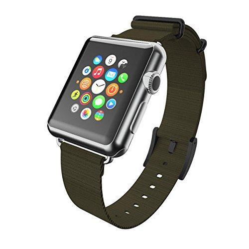 Incipio Carrying Case For Apple Watch 42Mm - Retail Packaging - Green/Black Buckle
