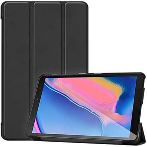 "Procase Galaxy Tab A 8 (2019) Case, Slim Light Smart Cover Stand Hard Shell Folio Case for Galaxy Tab A with S Pen 8.0"" 2019 (SM-P200 SM-P205) -Black"