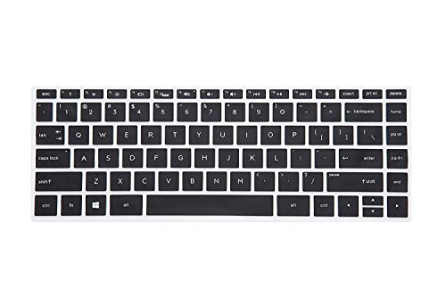 "Keyboard Cover Compatible with 14"" HP Pavilion 14M-BA 14M-BF 14M-CD 14M-DW 14M-DH, 14-BA 14-BF 14-FQ 14-cm 14-CF 14-DS 14-DQ 14-DK 14-DF, 14-BF050WM Series Laptop - Black"