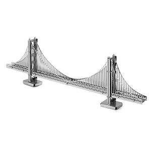 fascinations Metal Earth San Francisco Golden Gate Bridge 3D Metal Model Kit