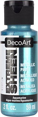 Decoart Extra Sheen Paint - Aquamarine - 2 Fl Oz