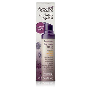 Aveeno Absolutely Ageless Leave-On Day Mask Face Lotion With Spf 30 Sunscreen 1.3 Fl Oz