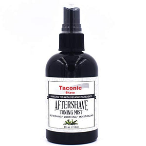 Taconic Shave After Shave and Toning Mist - Cools, Soothes and Hydrates - Artisan Made in The USA