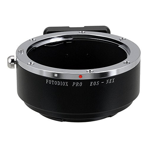 Fotodiox Pro Lens Mount Adapter - Canon EOS (EF, EF-s) Lens to Sony E-Mount Camera (APS-C & Full Frame Such as NEX-5, NEX-7 & ë±7)