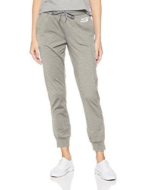 Skechers Active Women's Chill Jogger Pant, Sporty Light Heather Grey XXL