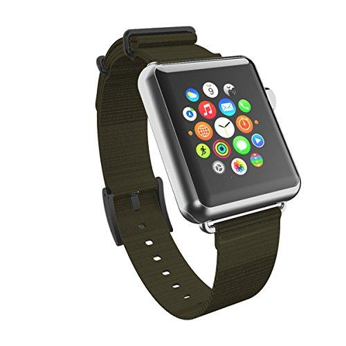 Incipio Carrying Case For Apple Watch 38Mm - Retail Packaging - Green/Black Buckle