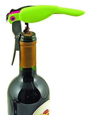 "True Fabrication 2469 Corkatoo Double-Hinged Corkscrew 6.75"" Multicolor"