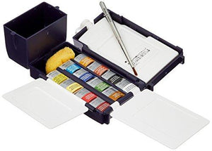 Winsor & Newton Professional Water Colour Field Box, 12 Half Pans