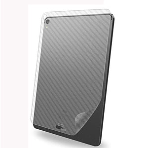 for iPad Air 4 2020 Back Screen Protector 3D Carbon Fiber Ultra Thin Protective Film-2 Packs-Transparent