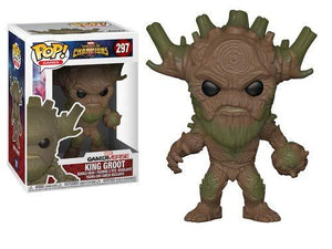 Funko Pop! Games: Marvel - Contest Of Champions - King Groot Collectible Figure