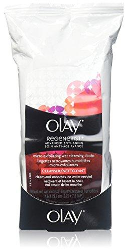 Olay Regenerist Micro-Exfoliating Wet Cleansing Cloths - 30 Ct