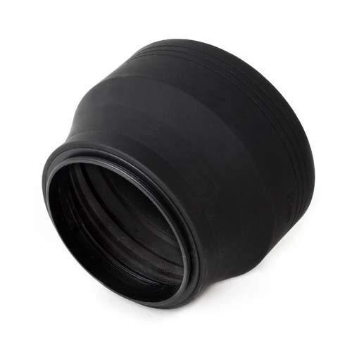 Cowboystudio 3-In-1 Collapsible Soft Rubber Lens Hood For Camera Lens With 58Mm Filter Thread