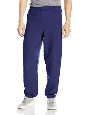 Hanes Men'S Ecosmart Fleece Sweatpant Navy L