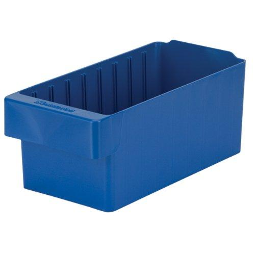 "Akro-Mils 31162 Akrodrawer Plastic Storage Drawer, 11-5/8"" L X 5-9/16"" W X 4-5/8 H, Blue, Case Of 6"