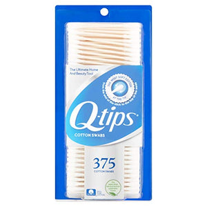 Q-Tips Cotton Swabs - 375 Swabs