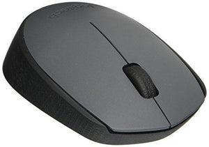 "Logitech M170 Wireless Mouse €"" For Computer And Laptop Use, Usb Receiver And 12 Month Battery Life, Gray"