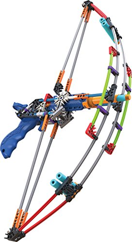 K'NEX K-FORCE Battle Bow Build and Blast Set – 165 Pieces