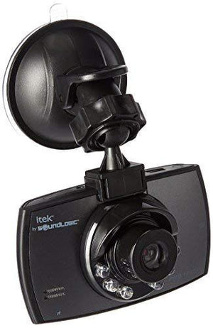 Soundlogic Xt Ccv-12/6587 Itek Hd Dvr Dashboard Dash Cam With Microphone For Audio Recording