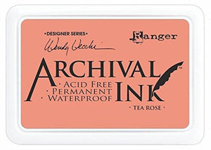 Ranger Wendy Vecchi Designer Series Tea Rose Archival Ink Pad
