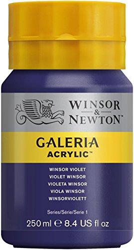 Winsor & Newton Galeria Acrylic Paint, 250Ml Bottle, Winsor Violet