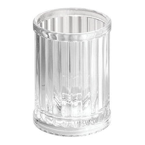 Interdesign Alston Tumbler Cup For Bathroom Vanity Countertops - Clear