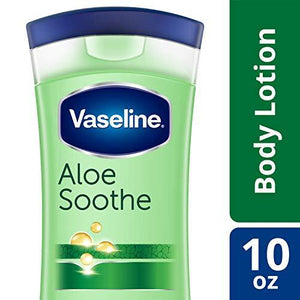 Vaseline Intensive Care Body Lotion, Aloe Soothe, 10 Oz