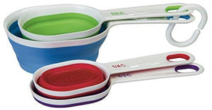 Progressive Assorted International Ba-545 Collapsible Measuring Cups