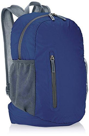 Amazonbasics Ultralight Packable Day Pack - Navy Blue, 35L