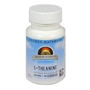 Source Naturals Serene Science L-Theanine 200Mg, 30 Capsules