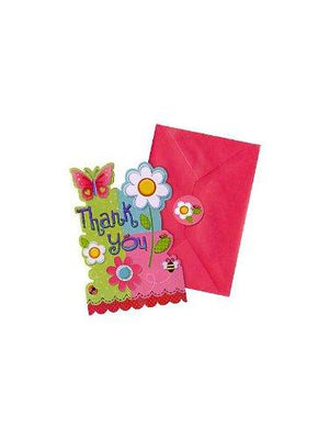 Amscan Garden Party Thank You Notes
