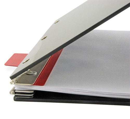 11-Inch End Tabs for Pressboard Binders, Pack of 20, Executive Red (595602)