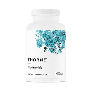 Thorne Research - Niacinamide - Vitamin B3 Nicotinamide (Niacin) Supplement - 180 Capsules
