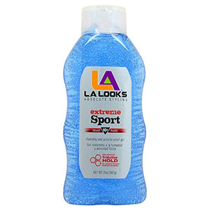 La Looks Extreme Sport Alcohol-Free Hair Gel | Level 10 Hold 20 Oz | 1-Unit