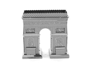 Fascinations Metal Earth Arc De Triomphe 3D Metal Model Kit