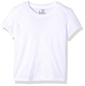 Hanes Boys' Big Ultimate Cool Comfort Crewneck Undershirt 5-Pack, White Large